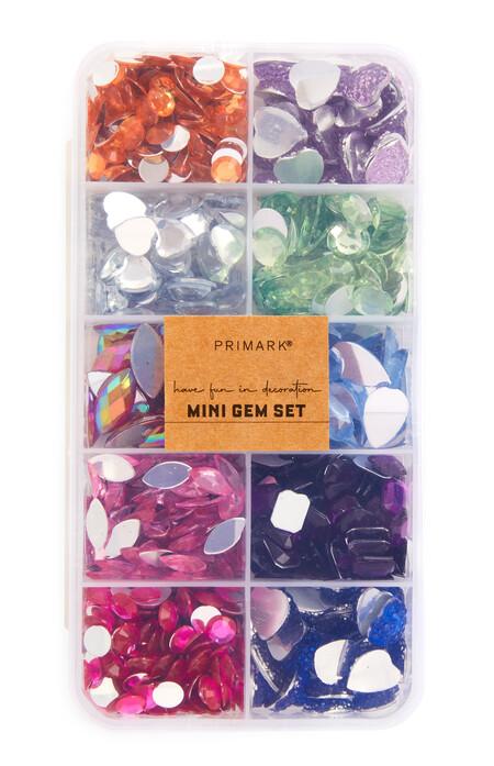 Craft Multicolour Mini Gem Set Gbp2 50 Eur3