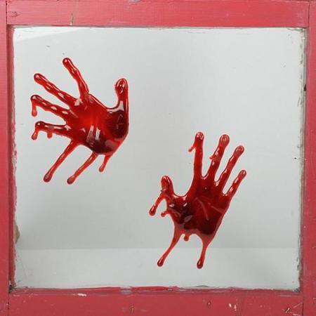 Halloween: Manos sangrientas