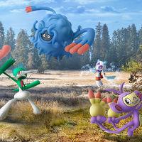 Pokémon GO incorpora a más Pokémon y evoluciones de la cuarta generación de la saga