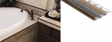 Toskana, perfiles para cerámica con superficie texturada