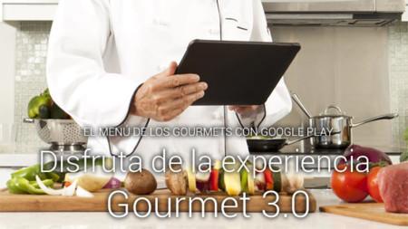 Google Play ofrece una selección de aplicaciones de gastronomía para convertirnos en un gourmet 3.0