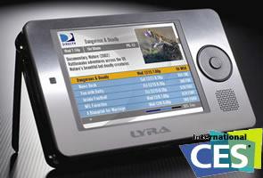 Thomson Lyra X3000 PMP presentado en el CES