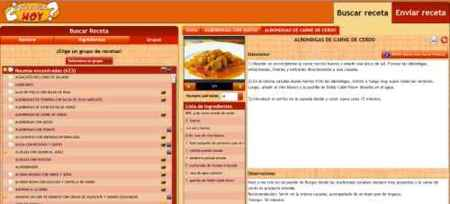 Quecocinohoy.com, las mejores recetas de cocina a elegir