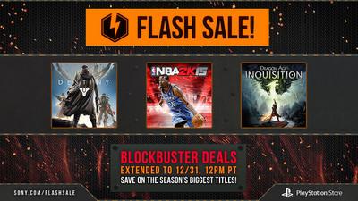 Es oficial, las ofertas flash  de la PSN se extienden hasta el 31 de diciembre