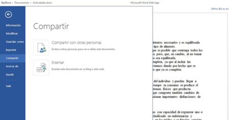 SkyDrive ahora permite ver y editar documentos sin necesidad de tener una cuenta de Microsoft