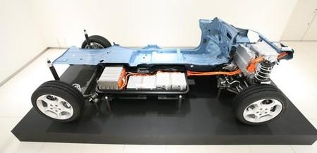 Nissan LEAF 2010 sección batería