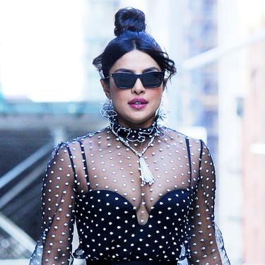 Transparencias o corsé, los dos looks más sexys de Priyanka Chopra en solo 24 horas