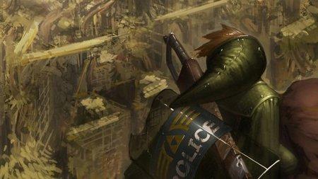 Imagen de la semana: 'The Legend of Zelda: Echoes of the Future'. Link se pasa al ambiente post-apocalíptico