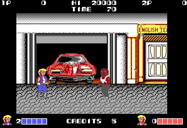 Double Dragon (Technos, 1988)