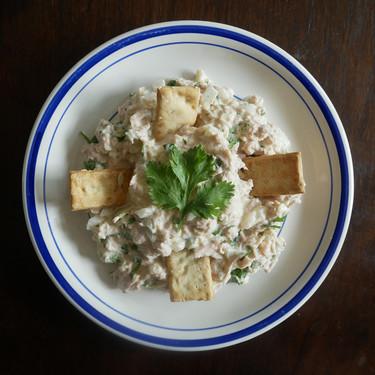 La mejor ensalada de atún de lata: receta para una cena o aperitivo muy fácil (perfecto para picnic)