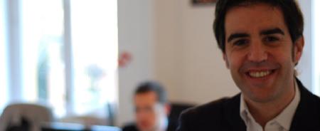 """""""Si ganamos repartimos, si perdemos lo asumimos nosotros"""" Pablo Rabanal, fundador de Reclamador.es"""