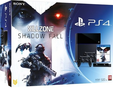 Pack de PS4 más accesorios y 'Killzone: Shadow Fall' por 499,99 euros en Amazon Francia