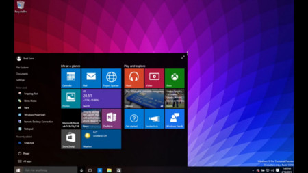 Transiciones, redimensiones y apps universales, así luce la build 10056 de Windows 10