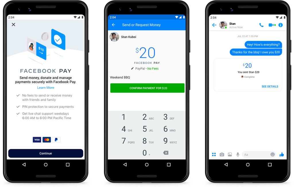 Facebook Pay: el iPhone poseera otro manera de pago mas en WhatsApp™ y Facebook™ Messenger