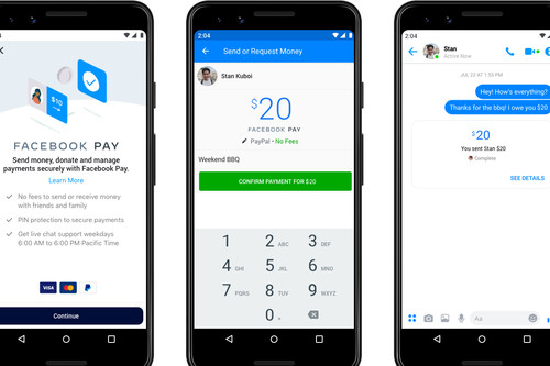 Facebook Pay: el iPhone tendrá otro modo de pago más en WhatsApp y Facebook Messenger