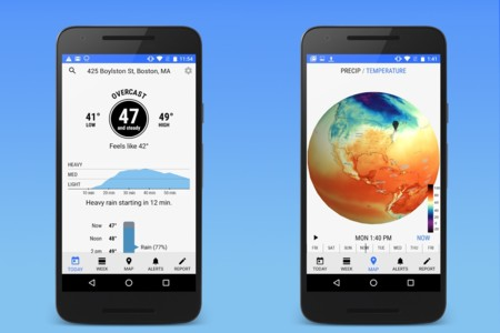 Dark Sky, la app del tiempo hiperlocalizado, llega a Android