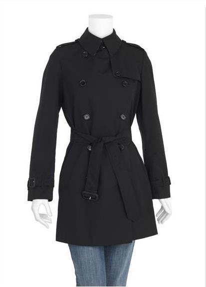 Burberry raincoat negro a medida
