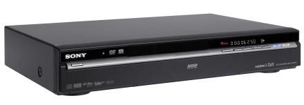 Grabadores DVD con disco duro de Sony