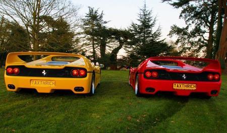 Tax The Rich: ahora el que va lento es el Ferrari F50
