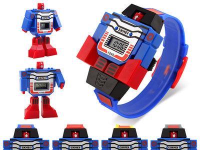 Reloj infantil Transformer SKMEI 1095 por 1,99 euros y envío gratis