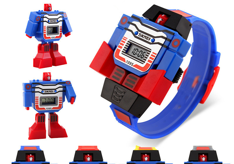 error juntos vendaje  Reloj infantil Transformer SKMEI 1095 por 1,99 euros y envío gratis