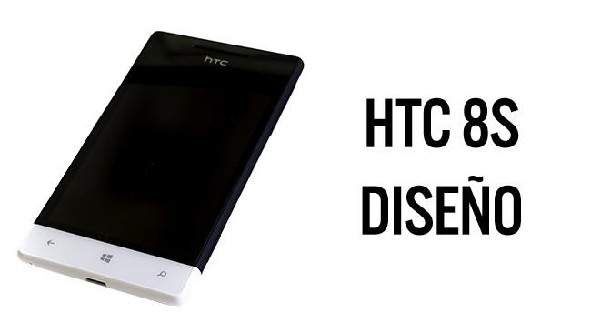 HTC 8S - diseño