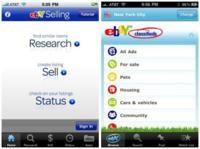 eBay Selling & Classifieds, dos nuevas aplicaciones con las que eBay espera aumentar sus ventas