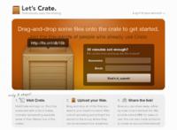 Crate, un servicio para compartir archivos extremadamente simple