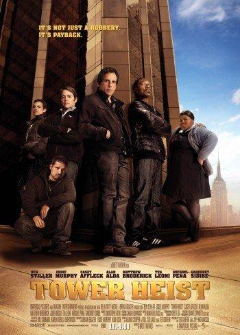 'Un golpe de altura' con Ben Stiller y Eddie Murphy, tráiler y carteles