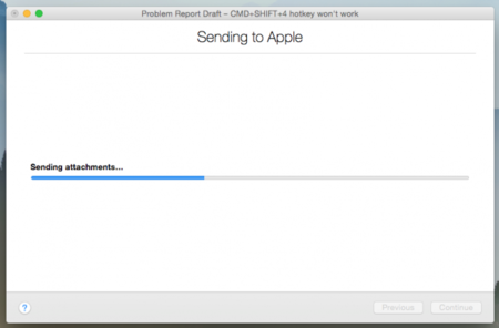 apple os x yosemite beta feedback assistant
