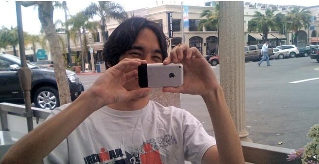 Haciendo fotografias con iPhone