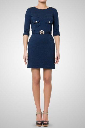 vestido azul pedro del hierro