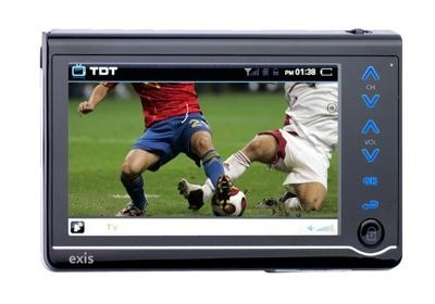 Exis s40, TDT y reproducción multimedia
