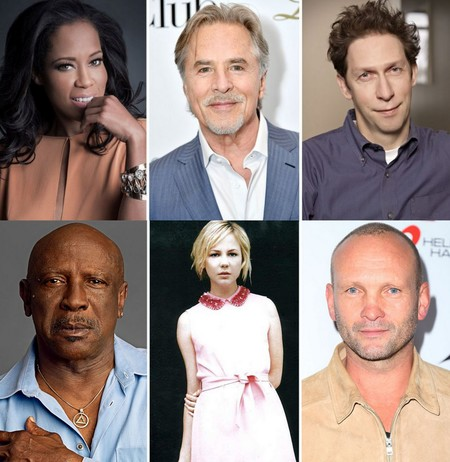 Regina King, Don Johnson, Tim Blake Nelson, Louis Gossett Jr., Adelaide Clemens y Andrew Howard