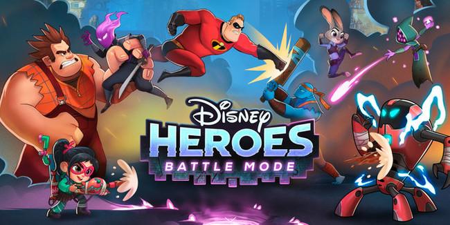 Disney Heroes: Battle Mode, batallas con toques RPG y personajes de Disney y Pixar para iOS y Android
