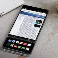 LG V30: así de raro podría ser, con una segunda pantalla deslizable