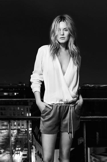 Camille Rowe protagonista de la campaña Primavera-Verano 2015 de IKKS