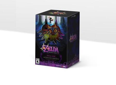 Confirmado para Norte América The Legend of Zelda: Majora's Mask 3D Limited-Edition