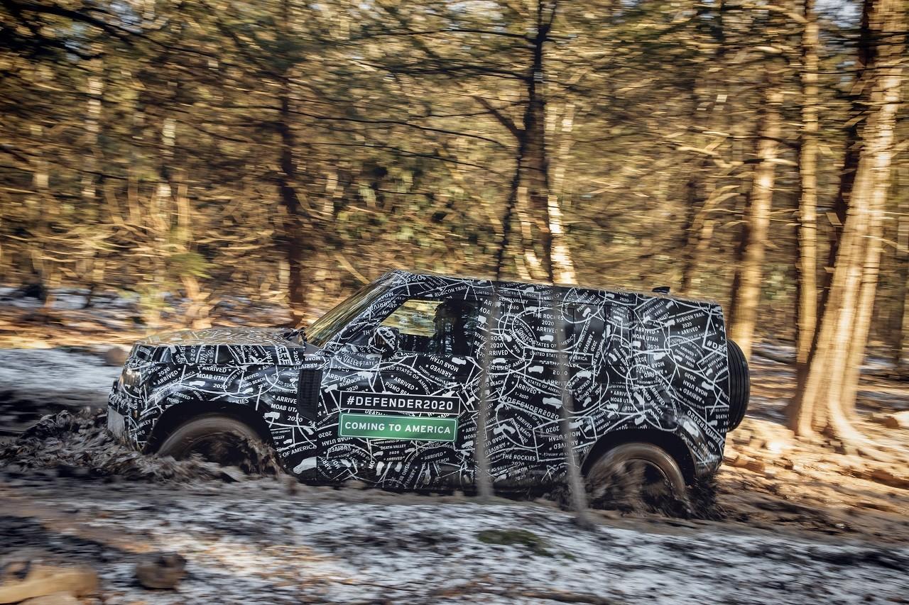 Foto de Land Rover Defender 2020 primeras fotos oficiales (12/24)