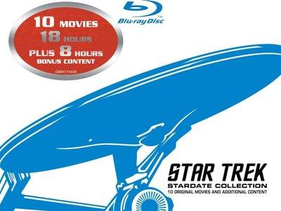 Black Friday Zavvi: Las 10 películas de Star Trek en Blu-ray por 25,95€