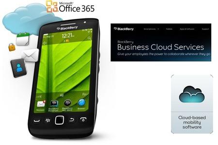 BlackBerry Business Cloud integrado con los servicios de Office 365