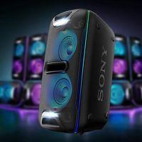 Las Sony Hours de MediaMarkt te dejan un potente altavoz Bluetooth como el GTKXB72 por sólo 221 euros