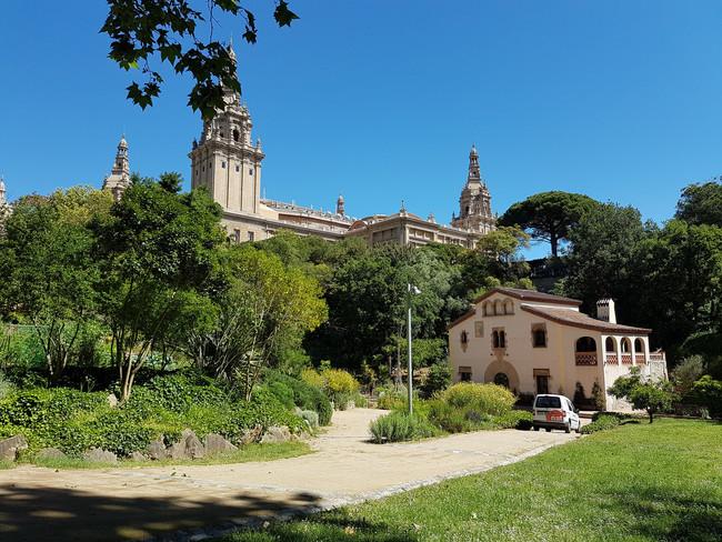 Jardin Botanico Barcelona Historico