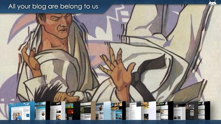 All your blog are belong to us (XCV)
