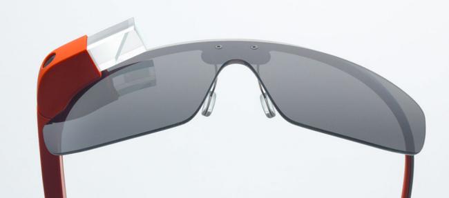 Google Glass pantalla