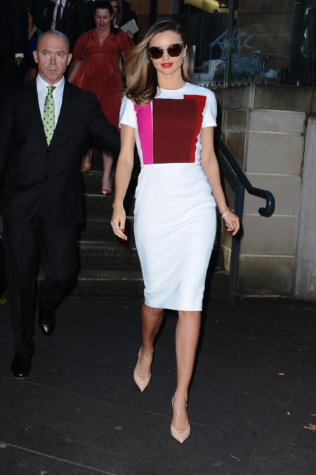 Miranda Kerr Victoria Beckham look