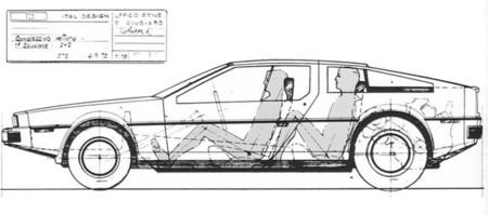 DeLorean DMC-24, el sedán que no llegó a ver la luz