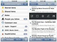 MobileRSS, un estupendo lector de feeds para el iPhone e iPod touch