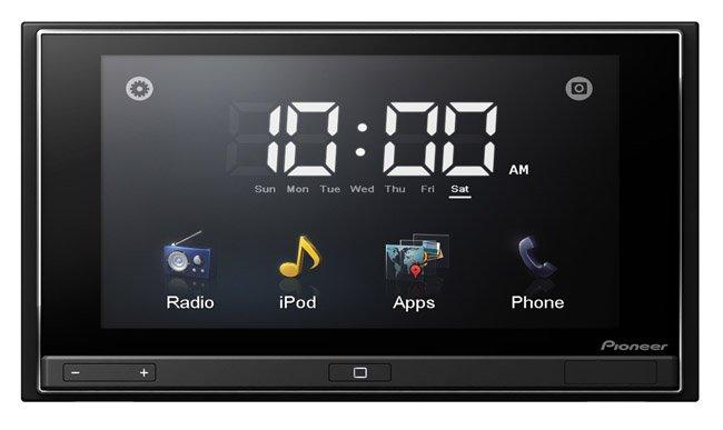 pioneer appradio el iphone en la pantalla del coche. Black Bedroom Furniture Sets. Home Design Ideas