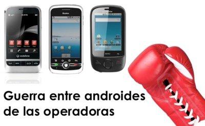 Combate entre los Android baratos de las operadoras: solo puede quedar uno